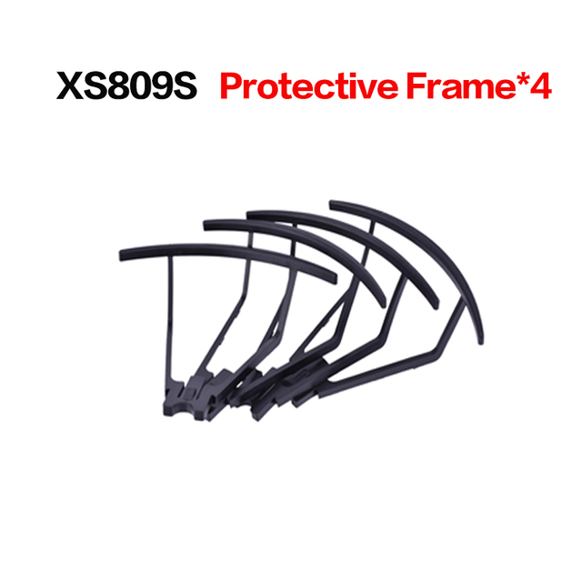 Free shipping Propeller Blade for XS809S XS809HS Mini Foldable RC Drone Quadcopter Pocket Helicopter Protective frame spare part