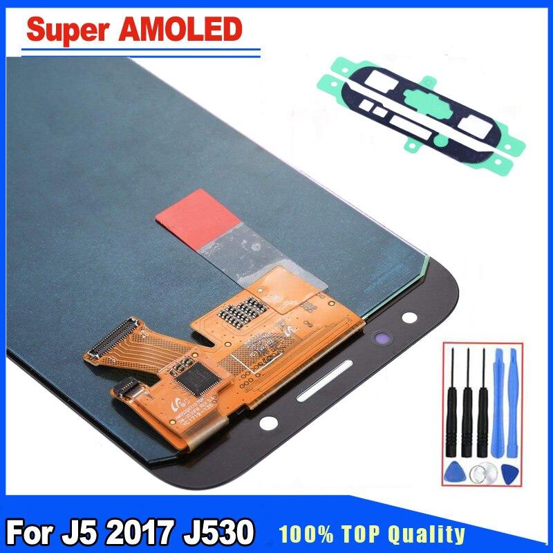 Super qualité AMOLED HD pour Samsung Galaxy J5 2017 J530 J530F LCD écran tactile numériseur assemblée pièce de rechange