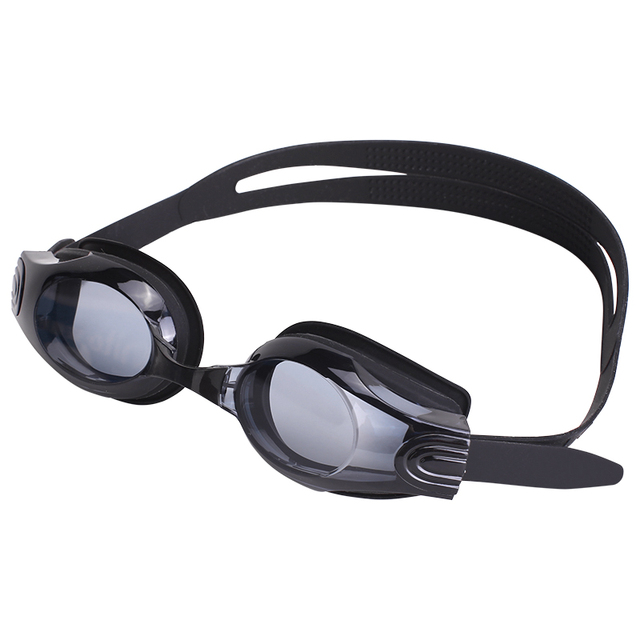 Agnite HD anti-fog swim glasses Men Women Waterproof silicone glasses adult Eyewear F6200 black blue