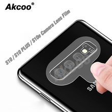 2 Pieces Akcoo S10 Plus camera glass film 9H Hardess for Samsung Note 10 Pro lens protector S7 8 9 note