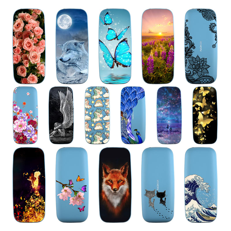 Goterfly For Nokia 105 Silicone Soft TPU Covers cute printing protective Back cover phone case