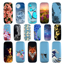Goterfly For Nokia 105 Silicone Soft TPU Covers For Nokia 105 cute printing protective Back cover For Nokia 105 phone cute case