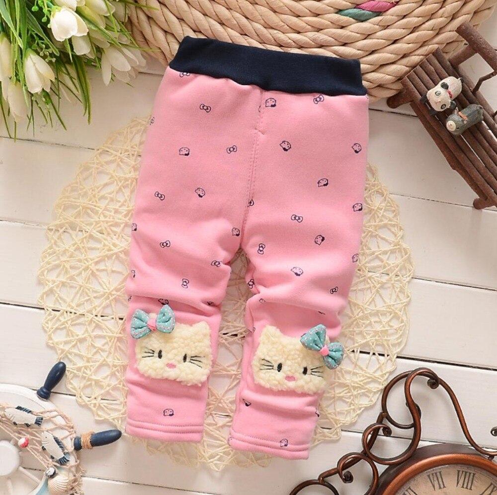42a6b6b2237b Girls Leggings 2018 Brand Children Winter Pants Cloth With Soft Nap ...