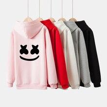 Frdun Tommy Marshmello Women and men Hoodies Sweatshirts 2019 rock DJ Smile Hoodie Sweatsh