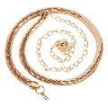 Delicado mujeres cinturones Ladis retro vintage Señora de la Mujer Serpiente de La Manera Huesos Estilo de Cuerpo de la Correa de Cadena de Metal Cadena nor160824
