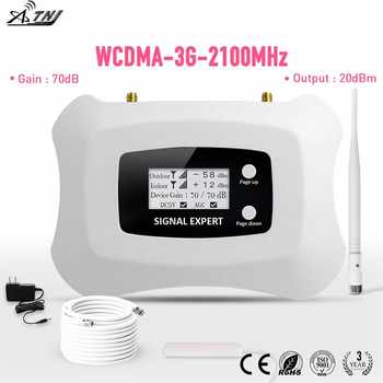 LCD display !Mini Smart 2100 MHz 3G Cell phone Amplifier  3G repeater UMTS 3G cellular signal booster amplifier kit for 3G - DISCOUNT ITEM  9% OFF All Category