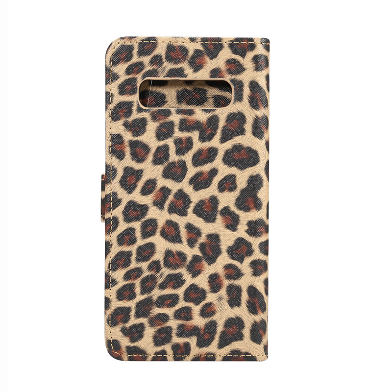 Wallet Flip Case For Samsung Galaxy Note 10 Plus Leopard Leather Cover For Samsung S20 Ultra S10e S10 + S9 S8 S5 S6 S7 Edge Capa