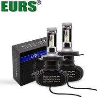 EURS 2 개 뜨거운 판매 헤드 라이트 키트 H1 9012 9004 H16 H27 H3 H4 H11 H7 CSP 4000lm DV9V-32V 50