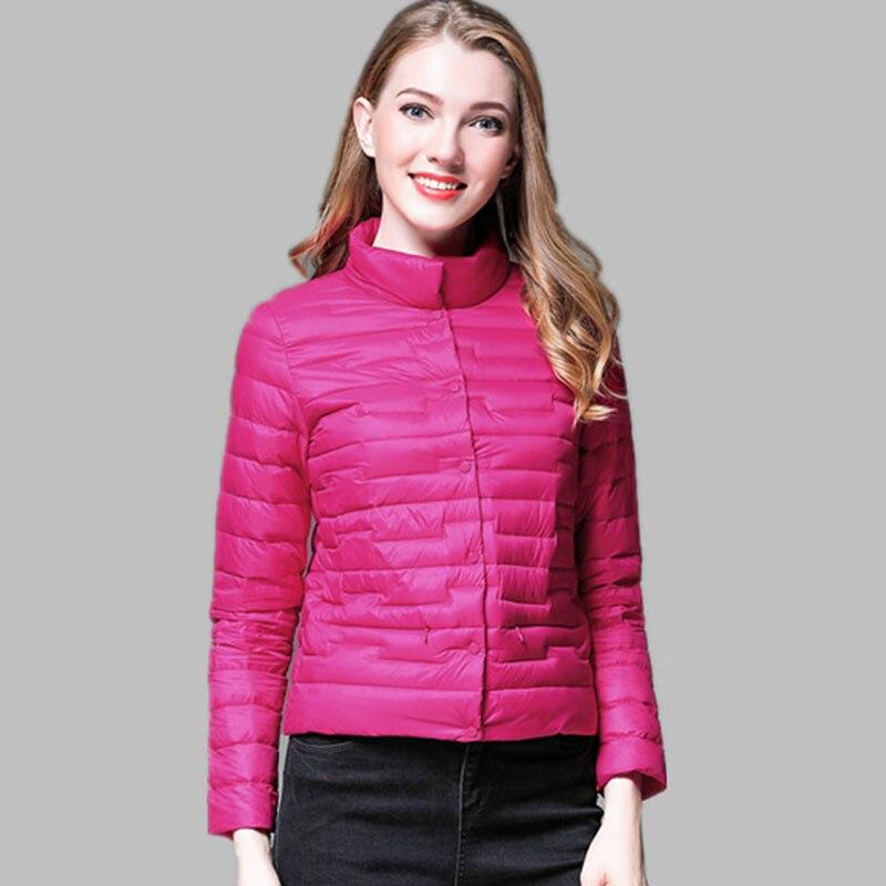 2018 Neue Ausgelegt Winter Frauen Ultraleichte Daunenjacke Casual Portable Ente Feder Mantel Jacken Leichte Parkasqh1206 Kataloge Werden Auf Anfrage Verschickt
