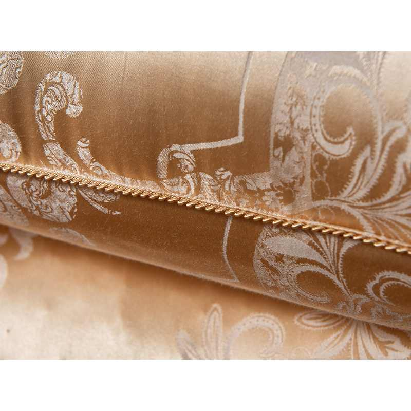 100% 桑シルク寝具枕/ラグジュアリーローズゴールド天然ヘッド Sleepping 枕充填材ヨーロッパスタイル無料船