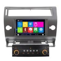 Wholesales 8 Inch Car DVD Player GPS Navigation For Citroen C4 2004 2005 2006 2007 2008