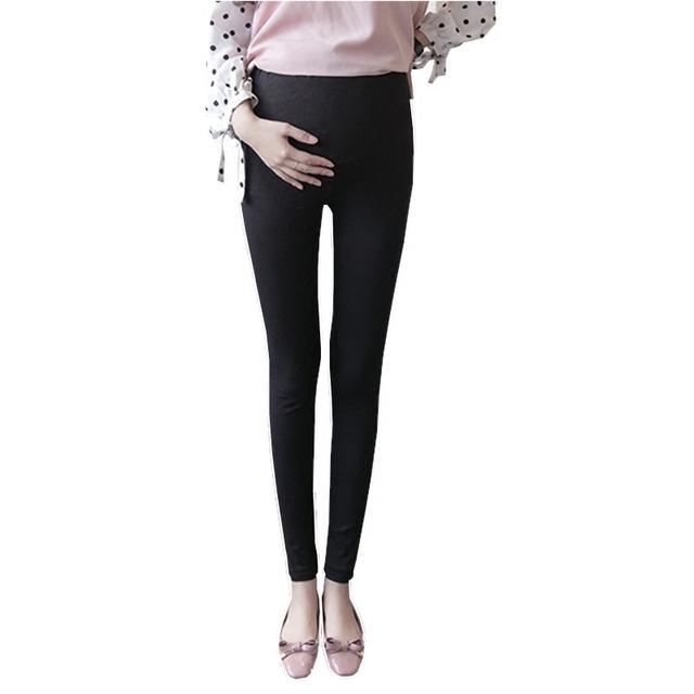 SLYXSH New Spring Cotton Maternity leggging Pregnancy Clothes Autumn Women Pants For Pregnant Women Leggings Maternity Clothing