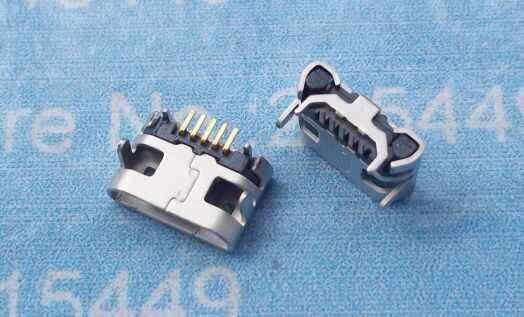 2 pcs micro 5pin lungo pin Porta USB di Ricarica Connettore Per Lenovo Tab 2 A10-30 TB2 X30F A7-50 A3500-F