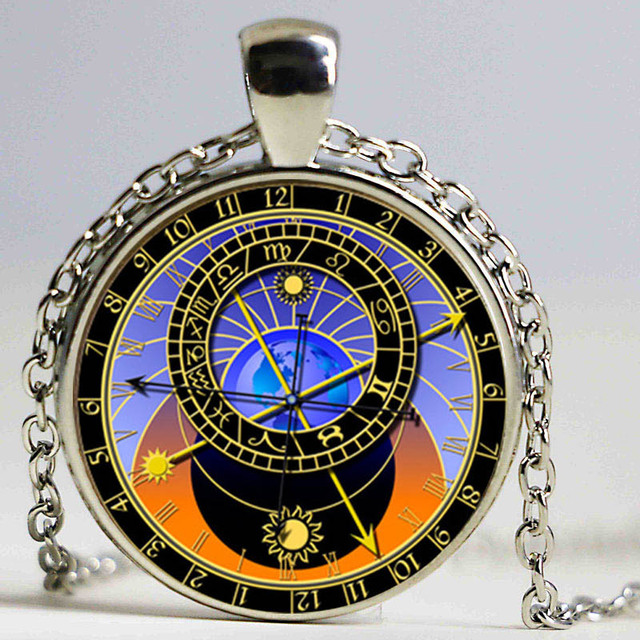 Astronomical sundial globe pendant astronomy necklace aqua bronze astronomical sundial globe pendant astronomy necklace aqua bronze astrological vintage astronomy science jewelry mozeypictures Gallery