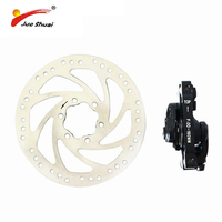 Jueshuai Brand New Cycling Brake Rotors 160mm silver bicycle disc brake rotor For MTB bike accessories bicycle Parts sale price