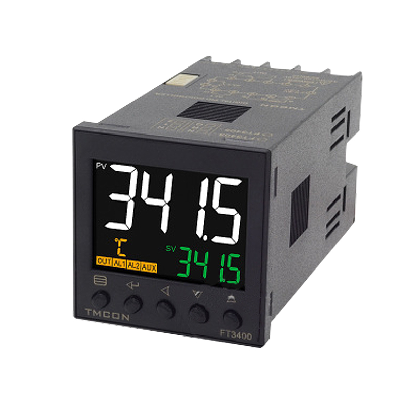 FT3415 LCD Intelligent Pid Temperature Control Meter E5CC Temperature Controller With RS485 Communication 4-20mA Analog