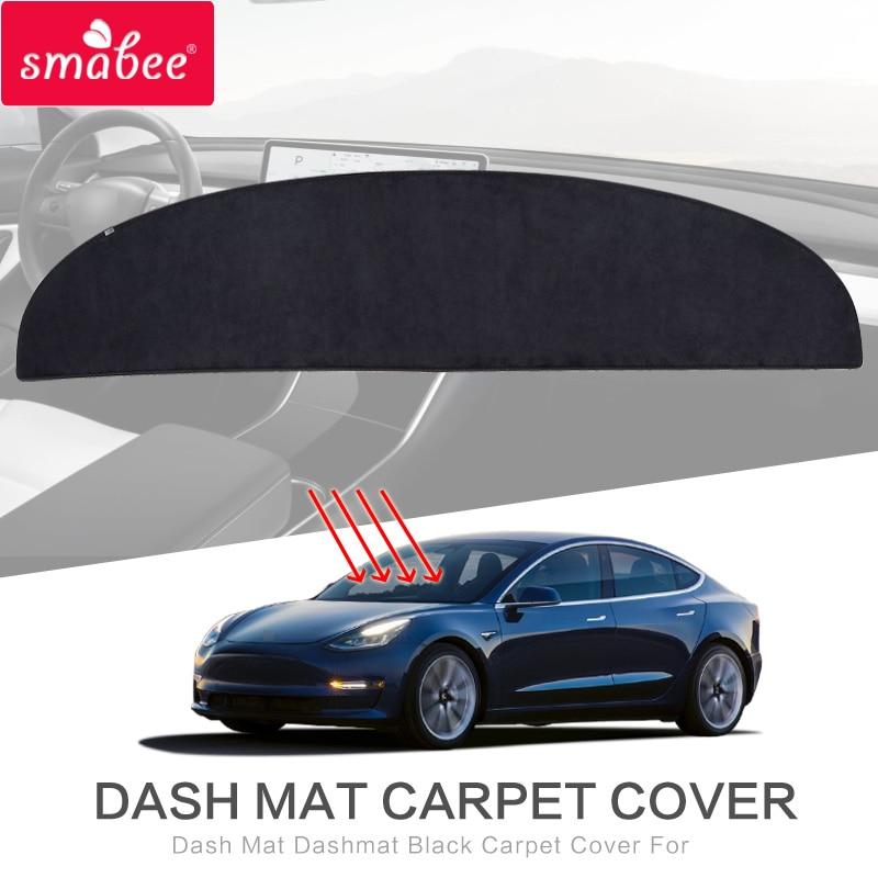 SMABEE Dash Mat Dashmat For Tesla MODEL 3 2017 2018 2019
