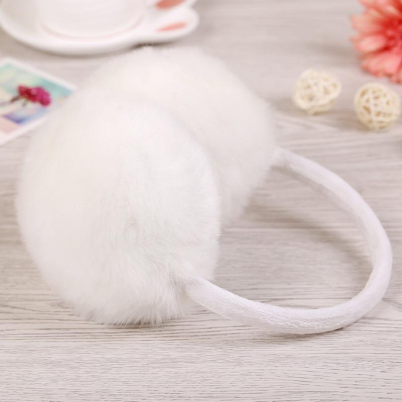 Warm Headphones Plush Earmuffs Children Ear Warm Headgear Women Ear Warm Headband Winter Earmuffs