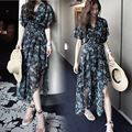 Summer Elegant Loose Chiffon Maternity Dresses Clothes For Pregnant Women Gravidas Wear Clothing Pregnancy Dress