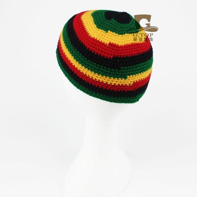 Tienda Online Rasta sombrero invierno cálido ganchillo sombreros ...