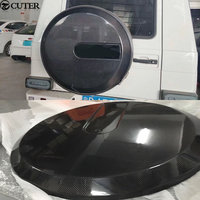 W463 G Class G500 G65 Carbon Fiber Car Spare Tire Cover For Mercedes Benz W463 G55