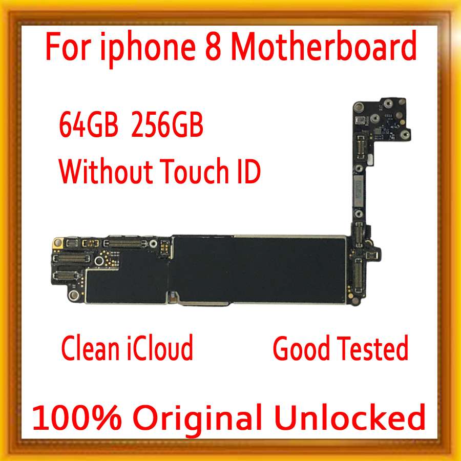Free iCloud for <font><b>iPhone</b></font> <font><b>8</b></font> <font><b>Motherboard</b></font> <font><b>with</b></font> <font><b>Touch</b></font> <font><b>ID</b></font> / without <font><b>Touch</b></font> <font><b>ID</b></font>,Original unlocked for <font><b>iphone</b></font> <font><b>8</b></font> Mainboard <font><b>with</b></font> Full Chips image