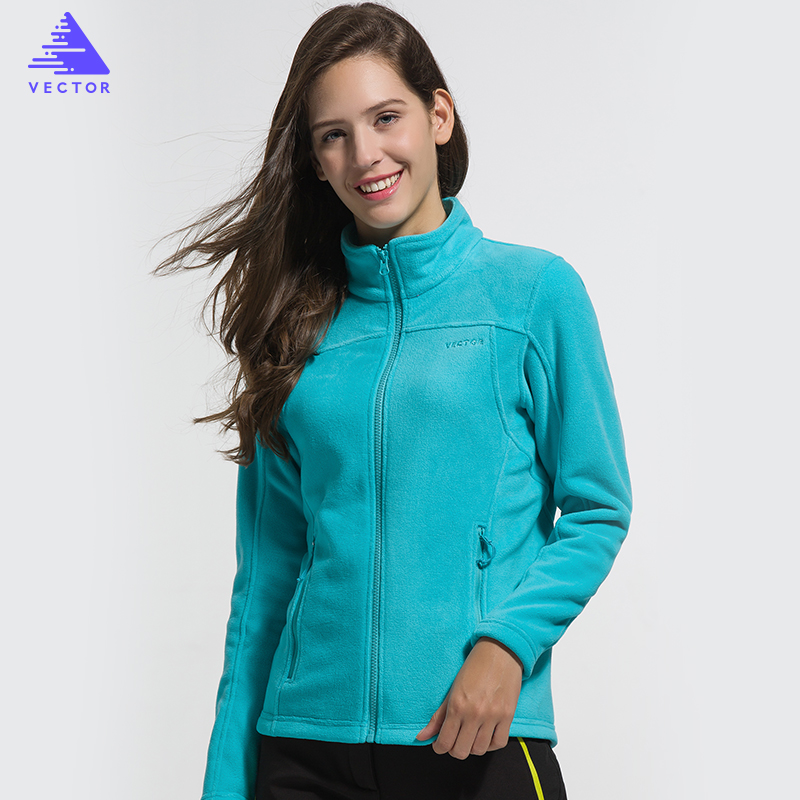 VECTOR Fleece Jacke Frauen Camping Wandern Jacken Full-Zip herren Outdoor Jacke Mantel Paare Weichen Fleece Jacken 6 farben