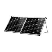 Anaka 100W 12V Solar panel China battery Waterproof Kits Panel For Home/Caravan Cell Travel Camping