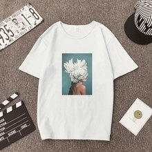 Kawaii Harajuku Women Tshirt Clothes 2019 Streetwear Tops Aesthetic Korean Style Ulzzang Paint Sexy Flowers Fashion Funny Tees хиты нового года комплект