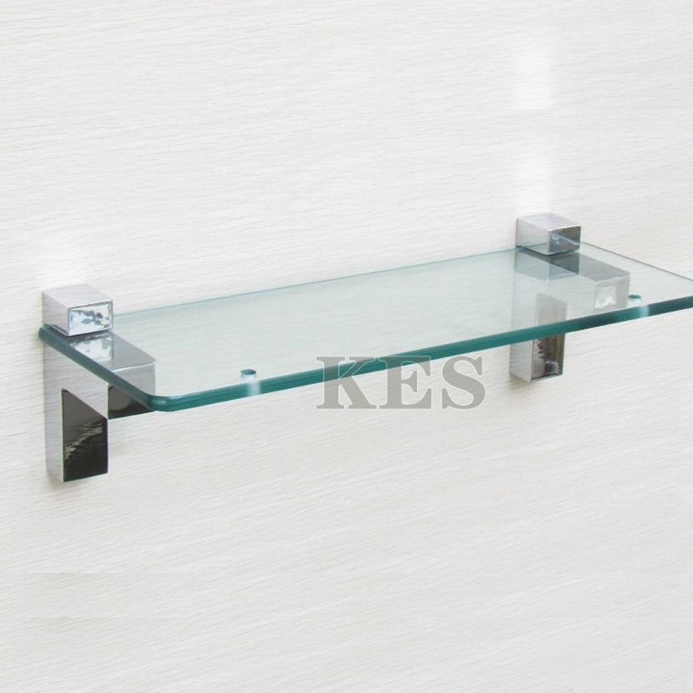 KES HSB301A P2 Solid Metal Adjustable Wood/Glass Shelf Bracket Wall ...