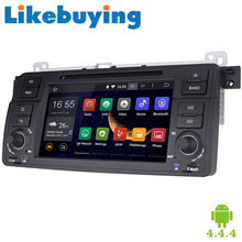 """Likebuying 7"""" 1024*600 Quad Core Car Stereo For BMW E46 1999-2005 2 Din Android 4.4.4 Car DVD GPS Navigation Radio Bluetooth"""