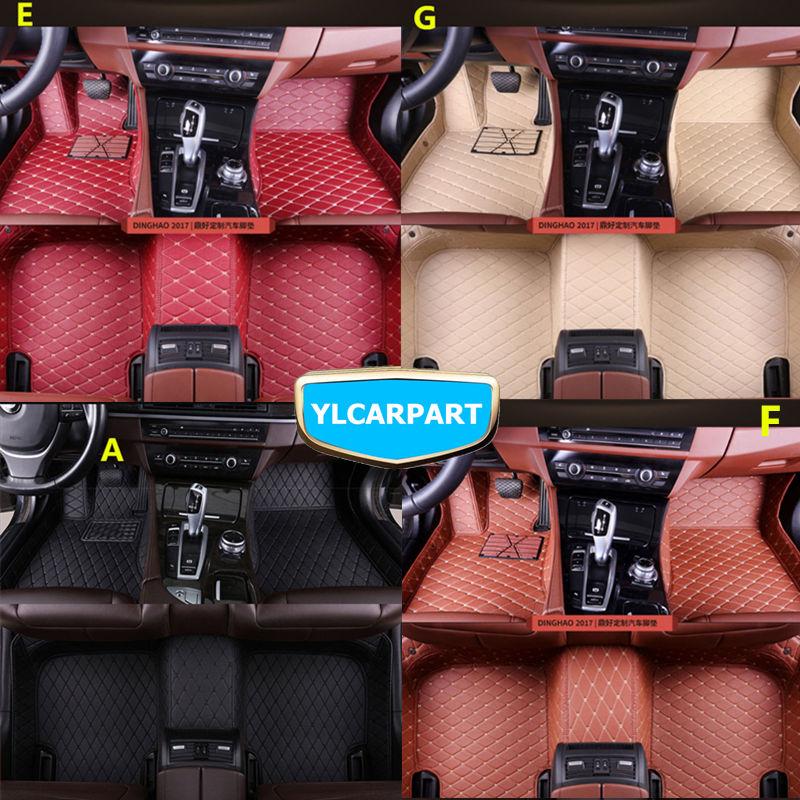 Car Floor Mats,For Geely Emgrand 7 EC7 EC715 EC718 Emgrand7,Emgrand7-RV EC7-RV EC715-RV