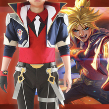 Game LOL Cosplay Costumes The Prodigal Explorer Ezreal Costume Halloween Carnival Party Anime EZ
