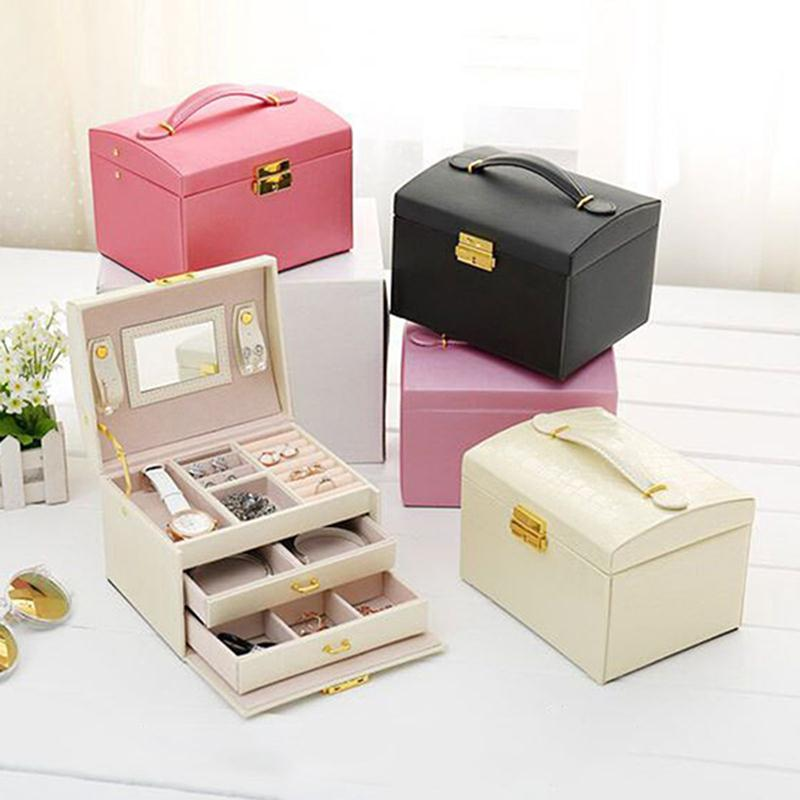 Online Buy Wholesale lockable jewelry boxes from China lockable