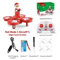 Santa Claus Christmas Songs RC Quadcopter Drone Mini Santa Claus Drone Quadcopter H67 Flying Music Voice Toys for Children