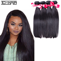 4pics Indian virgin hair straight wave remy hair bundles virgin straight Indian hair weaving bundles TD HAIR extension products