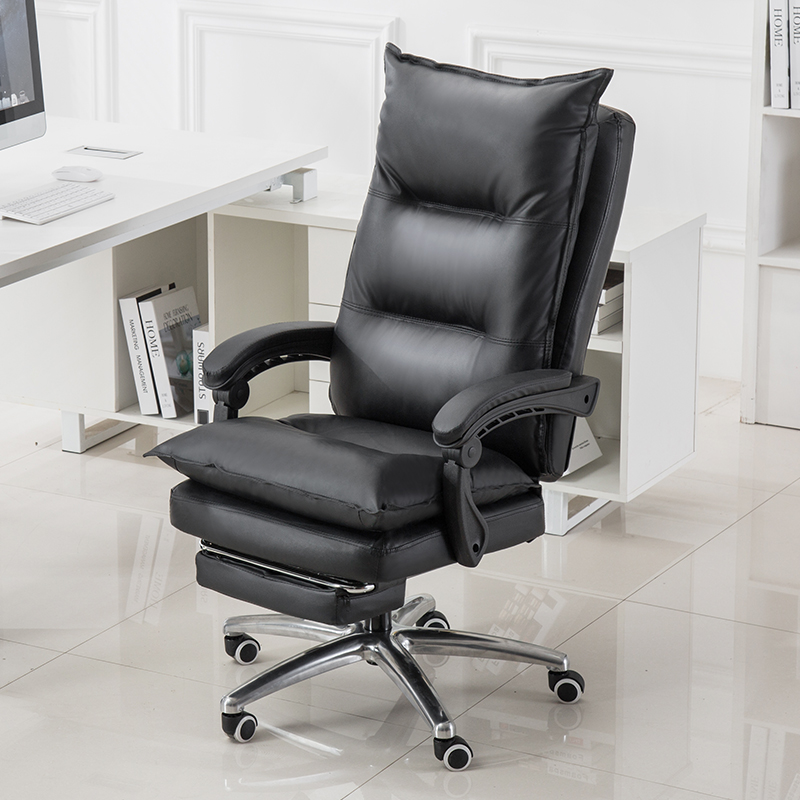 Upgraded Boss Chairs Selection Leather Massage Stool Home Office Study Computer Chair Swivel Lift Seat Convenient Footrest Chair