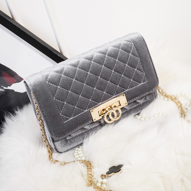 Velvet Crossbody Handbags