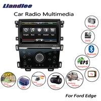 Liandlee For Ford Edge 2011~2014 Wince Car Radio CD DVD Player GPS Navi Navigation Maps Camera OBD TV Screen Multimedia