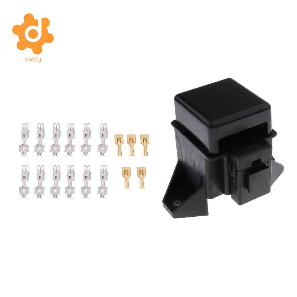 Detail Feedback Questions About Automotive Car Boat 14way Middle Ato Fuse Box Terminals 6 Way Atc Blade Block With