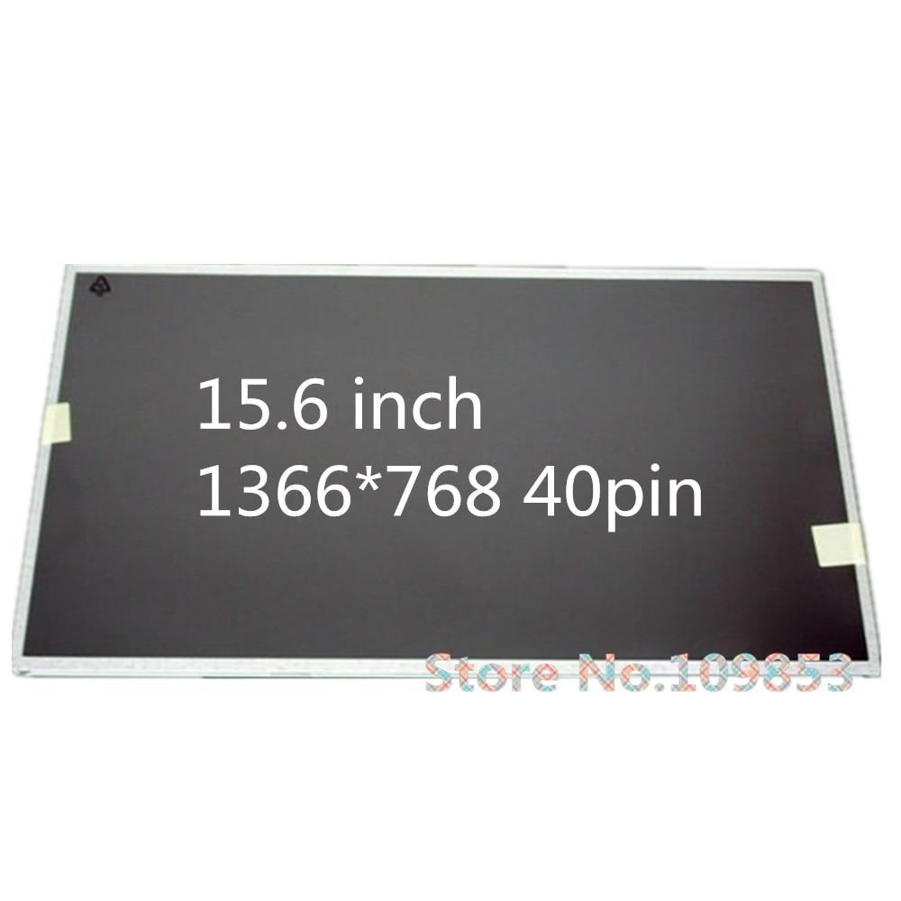 Bilgisayar ve Ofis'ten Dizüstü Bilgisayar LCD Ekran'de 15.6 ''laptop lcd led ekran ASUS X53B X53S A53S K53S X54H X552V A55A X55V 1366*768 40PIN led matris title=