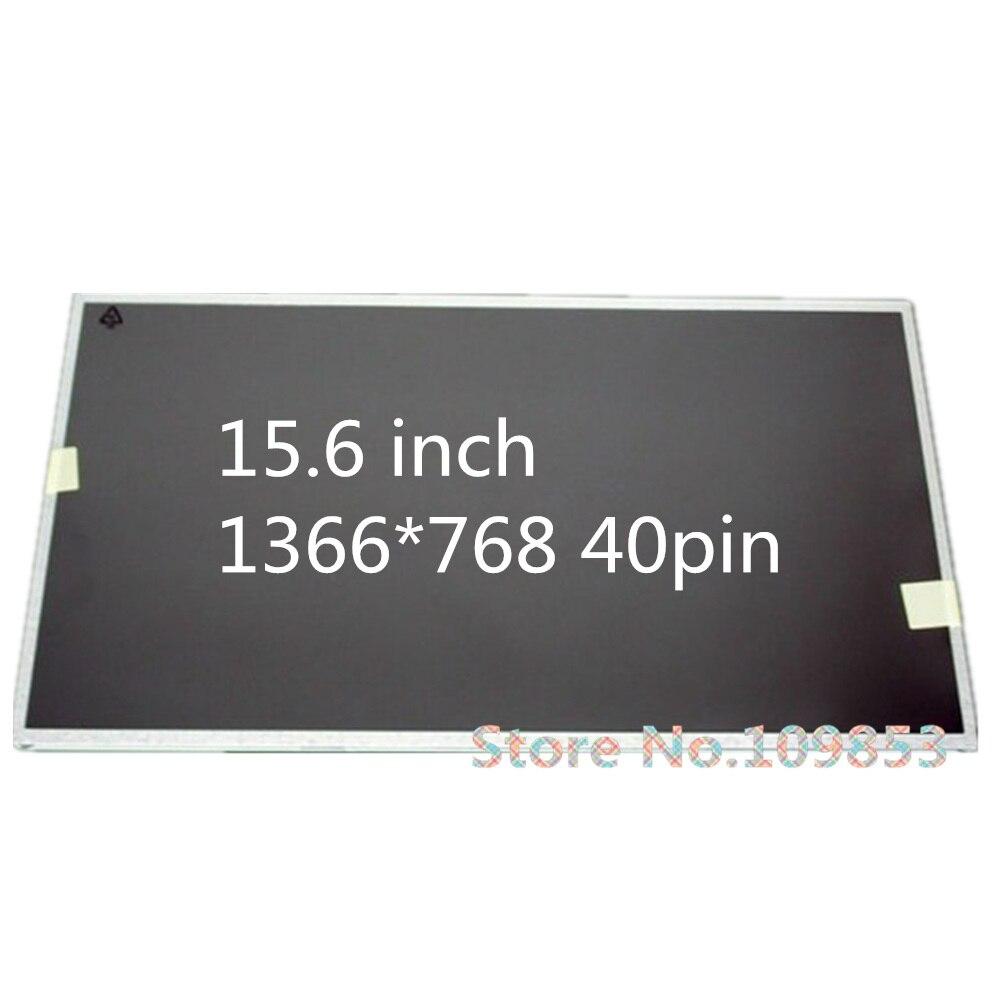 15.6'' Laptop Lcd Led Screen FOR ASUS X53B X53S A53S K53S X54H X552V A55A X55V 1366*768 40PIN Led Matrix