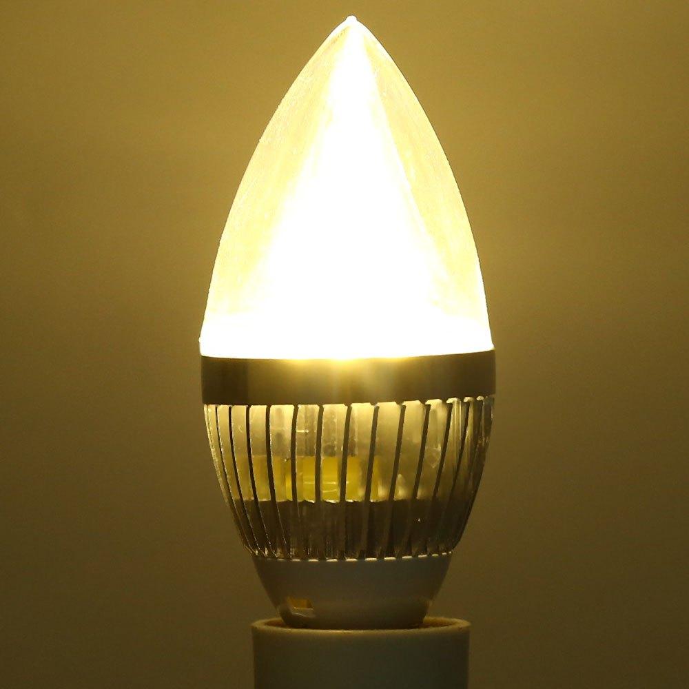 Led night light warm white - High Power Candle Led Bulb Lamp E27 5w 220v Led Dimmable Bulbs Night Light Cool White Warm White Energy Saving Lighting