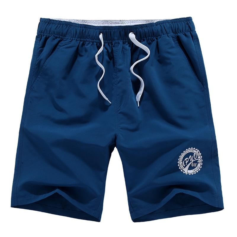 2019 Homens Calções de Praia Da Marca Calções de Secagem Rápida Calças Curtas Shorts Homme Roupas Casuais Outwear Homens Moda Praia Plus Size l-5XL
