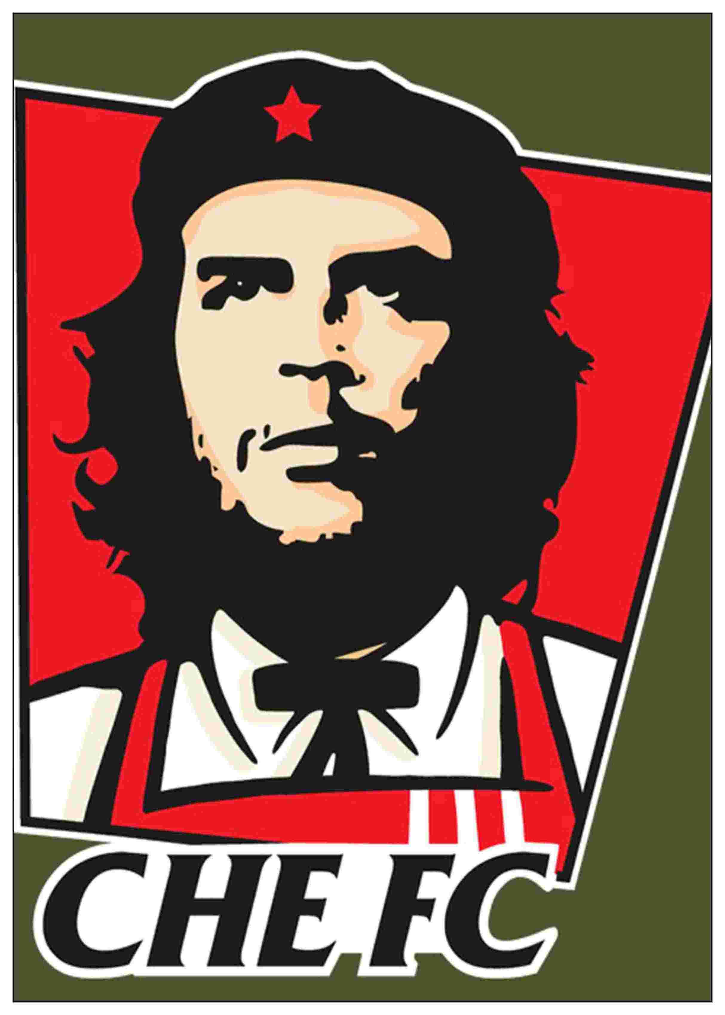 ... Che Guevara Character Posters Nostalgic Old Home Room Bar Decor High Quality Printing Wallpaper Modern Decoration ...
