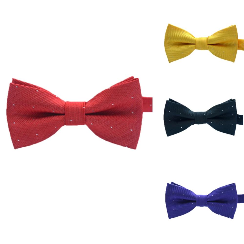 2018 Unisex Cute Bow Tie Candy Color Necktie Boy Black Tie For Girl Wedding Dress Accessories