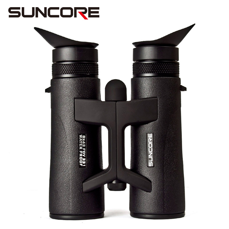 цена на Free Shipping SUNCORE 2017 Zhongkang 8 * 42 binocular telescope with two focus and high quality outdoor traveler vision