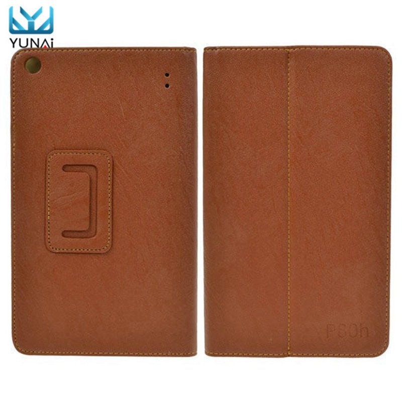 YUNAI PU Leather Folding Stand Case Cover Protective Skin Shell Protector For Teclast P80h New Fashion 8inch Tablet Cover Case