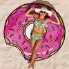 Hot Sales Bikini Beach Donut Cover Up Robe De Bain Swimsuit Cover Ups Pareos Beach Sarongs Mats Summer Beach Swimwear Women 1