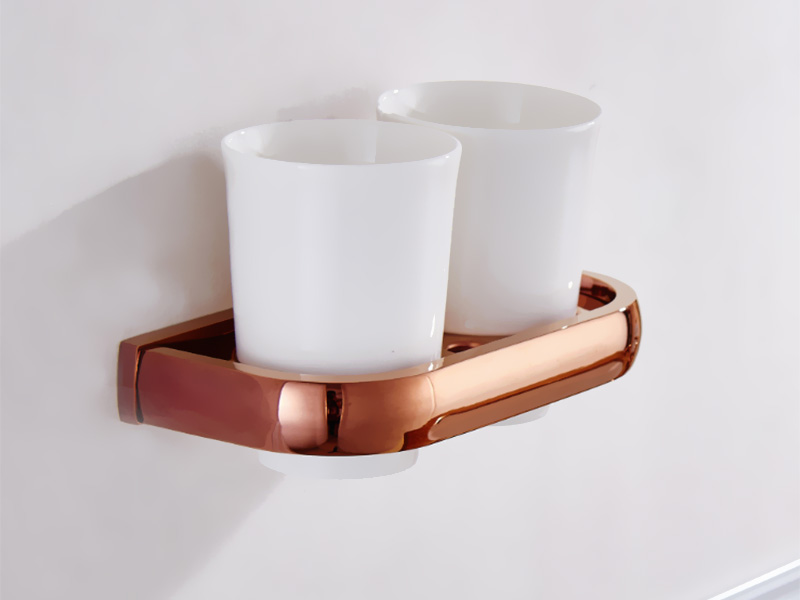 rose gold double cup holder 1